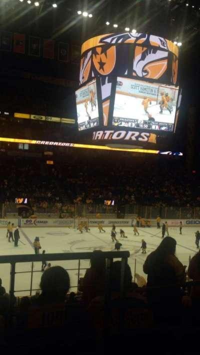 Bridgestone Arena, Abschnitt: 104, Reihe: J, Platz: 1