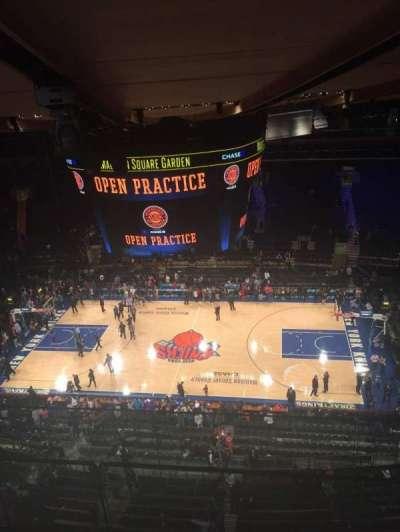 Madison Square Garden, Abschnitt: 314, Reihe: BS, Platz: 3