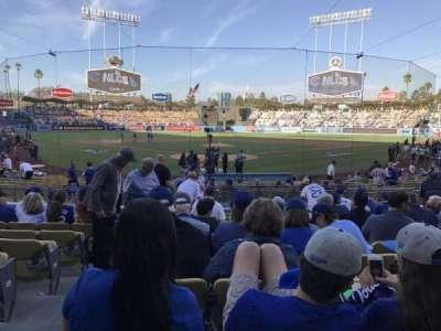 Dodger Stadium, Abschnitt: 2fd, Reihe: l, Platz: 2