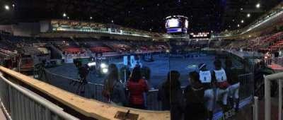 Ricoh Coliseum, Abschnitt: 104, Reihe: A, Platz: 2