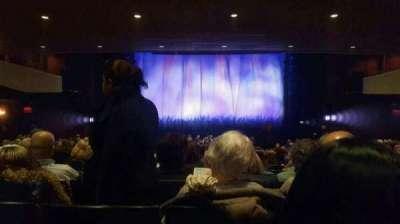 Marquis Theatre, Abschnitt: Orchestra Center, Reihe: X, Platz: 112