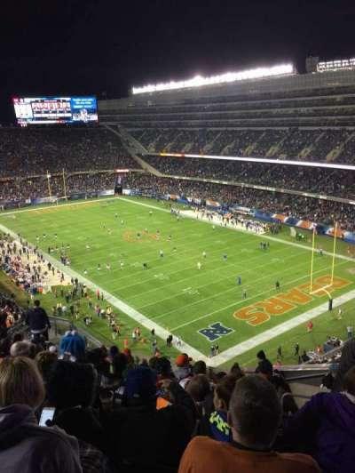 Soldier Field, Abschnitt: 429, Reihe: 12, Platz: 16