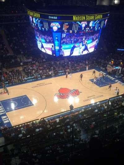 Madison Square Garden, Abschnitt: 311, Reihe: 3, Platz: 17