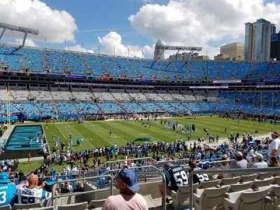 Bank of America Stadium, Abschnitt: 348, Reihe: 12, Platz: 2