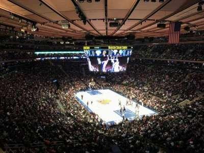 Madison Square Garden, Abschnitt: 414, Reihe: 1, Platz: 13