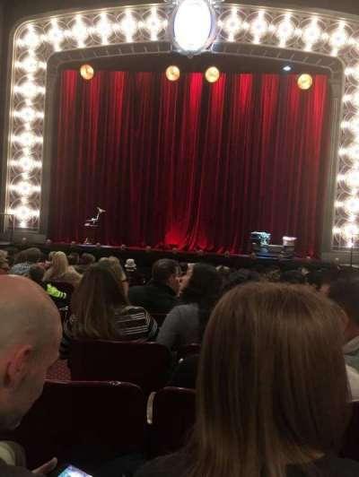 Palace Theatre (Broadway), Abschnitt: Orchestra, Reihe: M, Platz: 104
