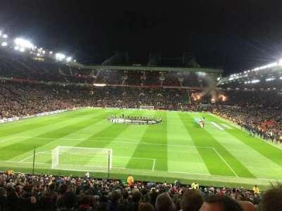 Old Trafford, Abschnitt: W206, Reihe: 20, Platz: 166