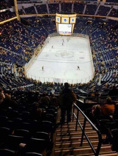 Bridgestone Arena, Abschnitt: 301, Reihe: N, Platz: 1