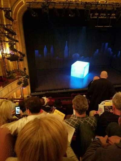 Walter Kerr Theatre, Abschnitt: Mezz Left, Reihe: F, Platz: 5