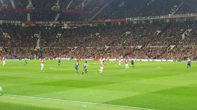 Old Trafford, Abschnitt: Sth127, Reihe: 4, Platz: 53
