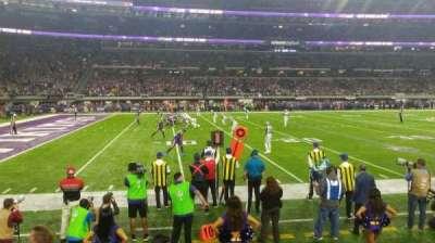 U.S. Bank Stadium, Abschnitt: 112, Reihe: 2, Platz: 13
