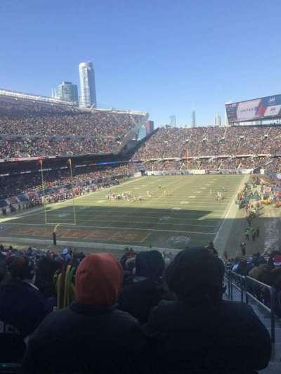 Soldier Field, Abschnitt: 220, Reihe: 19, Platz: 24