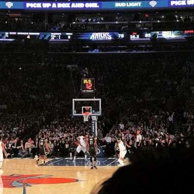 Madison Square Garden, Abschnitt: 9, Reihe: 18, Platz: 3