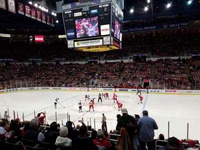Joe Louis Arena, Abschnitt: 106, Reihe: 15, Platz: 15