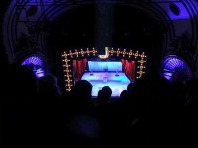 Palace Theatre (Broadway), Abschnitt: Balcony, Reihe: F, Platz: 110