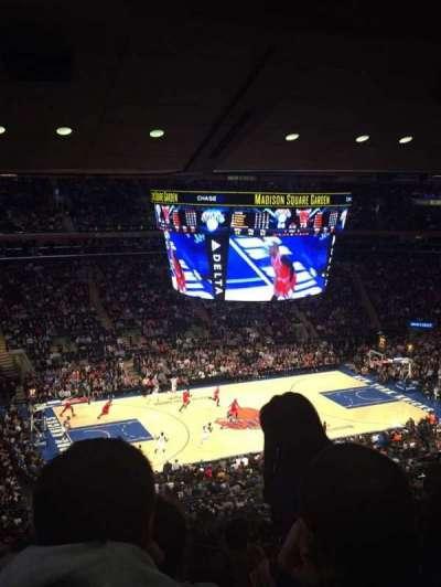 Madison Square Garden, Abschnitt: 109, Reihe: 14, Platz: 11-14
