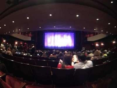 Marquis Theatre, Abschnitt: Orch Center, Reihe: V, Platz: 14