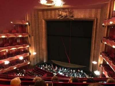Metropolitan Opera House - Lincoln Center, Abschnitt: Balcony, Reihe: D, Platz: 10