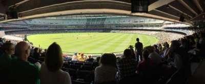 Melbourne Cricket Ground, Abschnitt: N13, Reihe: J, Platz: 18