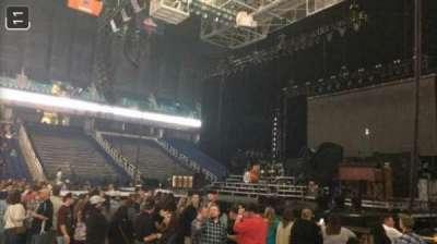 Greensboro Coliseum, Abschnitt: 125, Reihe: D, Platz: 13