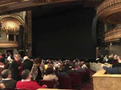 Palace Theatre (Broadway), Abschnitt: Orchestra, Reihe: N, Platz: 4