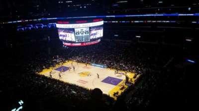Staples Center, Abschnitt: 315, Reihe: 3, Platz: 1