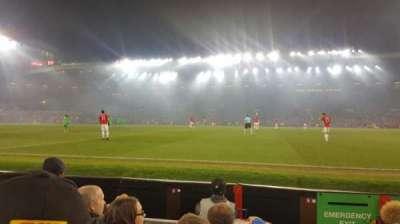 Old Trafford, Abschnitt: N1408, Reihe: DD, Platz: 130