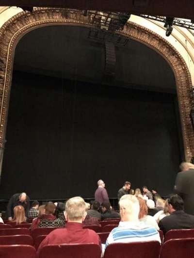 Palace Theatre (Broadway), Abschnitt: Orchestra, Reihe: N, Platz: 119