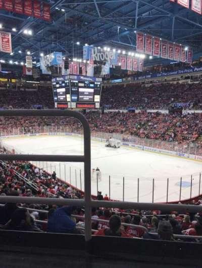 Joe Louis Arena, Abschnitt: 217, Reihe: 2, Platz: 16