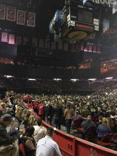 Joe Louis Arena, Abschnitt: 104, Reihe: 3, Platz: 3