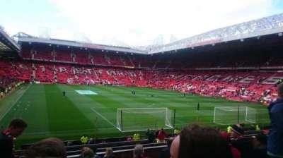 Old Trafford, Abschnitt: E233, Reihe: 10, Platz: 163
