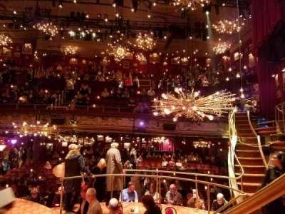 Walter Kerr Theatre, Abschnitt: Onstage, Reihe: TR, Platz: 4