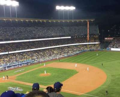 Dodger Stadium, Abschnitt: 28RS, Reihe: E, Platz: 18