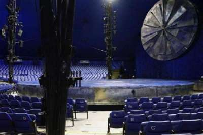 Cirque Du Soleil - Luzia, Abschnitt: 104, Reihe: F, Platz: 1