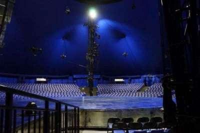 Cirque Du Soleil - Luzia, Abschnitt: 105, Reihe: F, Platz: 1