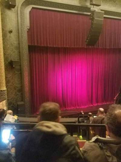New York City Center, Abschnitt: Mezz, Reihe: A, Platz: 5