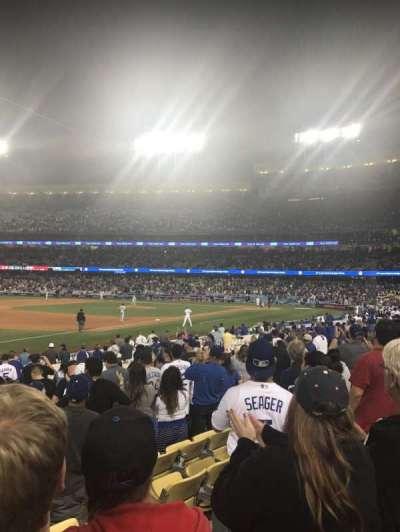 Dodger Stadium, Abschnitt: 37FD, Reihe: M, Platz: 5,6