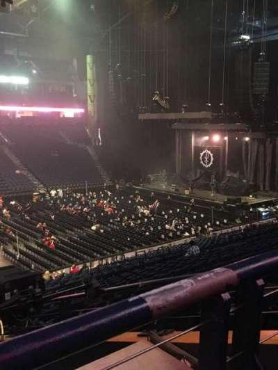 Bridgestone Arena, Abschnitt: 105, Reihe: P, Platz: 22