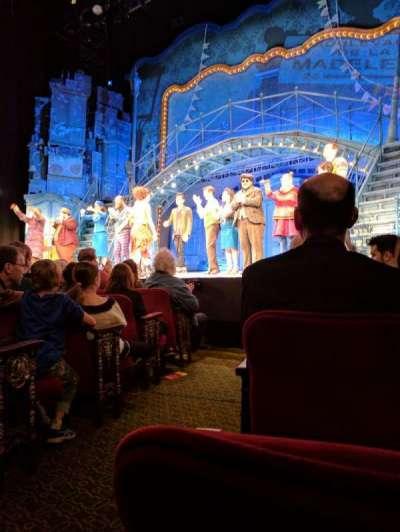 Walter Kerr Theatre, Abschnitt: ORCH, Reihe: F