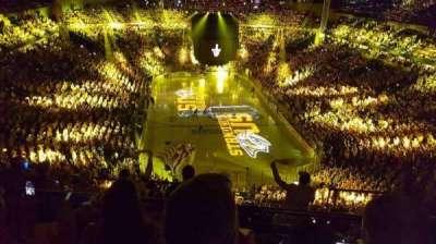 Bridgestone Arena, Abschnitt: 301, Reihe: H, Platz: 12
