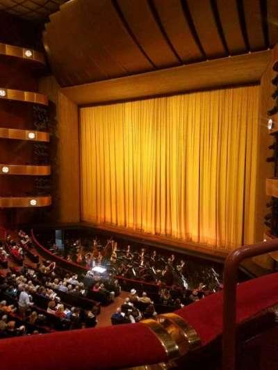 David H. Koch Theater, Abschnitt: 2 ring, Reihe: A, Platz: 36