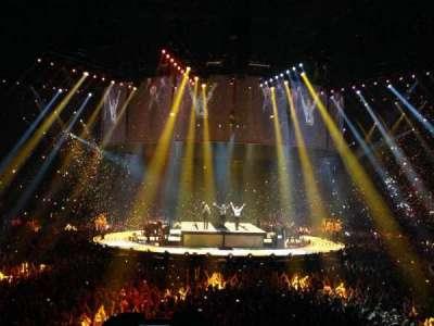 The O2 Arena, Abschnitt: 106, Reihe: N, Platz: 198