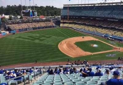 Dodger Stadium, Abschnitt: 29RS, Reihe: AA, Platz: 4