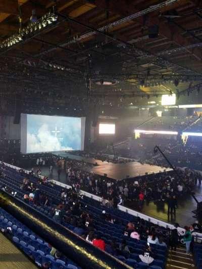 Allstate Arena, Abschnitt: 201, Reihe: A, Platz: 3