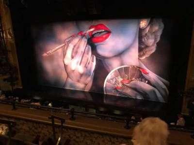 Nederlander Theatre, Abschnitt: Left Mezzanine, Reihe: D, Platz: 4