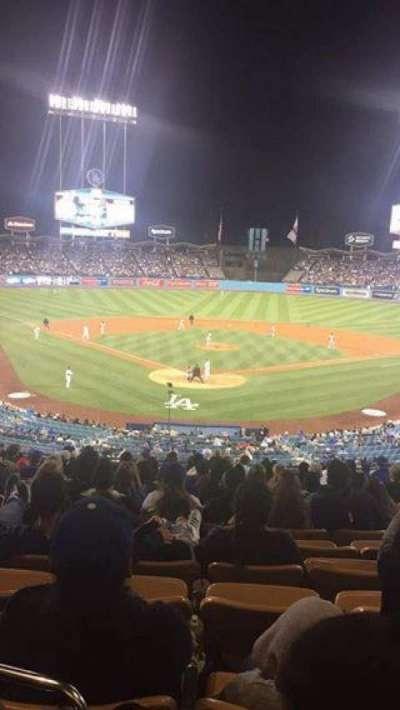 Dodger Stadium, Abschnitt: 104LG, Reihe: M, Platz: 6