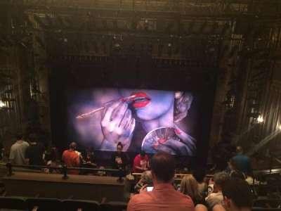 Nederlander Theatre, Abschnitt: Mezzanine, Reihe: N, Platz: 105