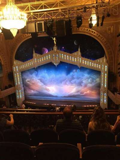 Eugene O'Neill Theatre, Abschnitt: Mezzanine Rear, Reihe: H, Platz: 122