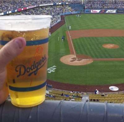 Dodger Stadium, Abschnitt: 6RS, Reihe: A, Platz: 18