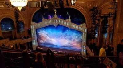 Eugene O'Neill Theatre, Abschnitt: Mezzanine, Reihe: K, Platz: 4